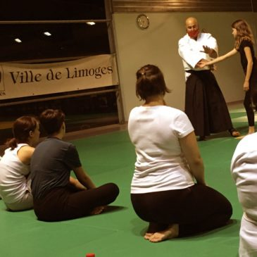 Venez essayer l'aïkido au LAM